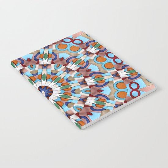 Retro Indian Leather Mandala Notebook