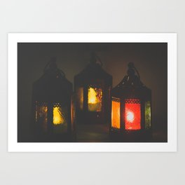 Magic Lanterns Art Print
