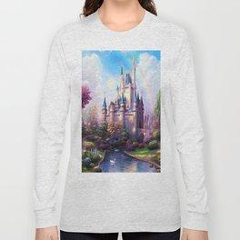 FAIRY FANTASY CASTLE Long Sleeve T-shirt