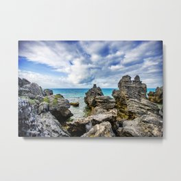 Tobacco Bay Beach, Bermuda Metal Print