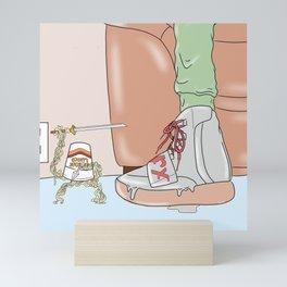 Ramen Ninja Mini Art Print