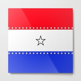 Red, White and Blue - 1 Metal Print