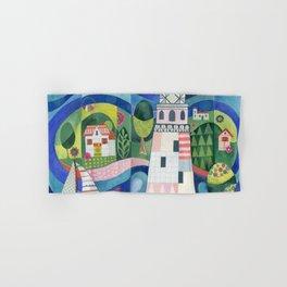 Island Lighthouse Hand & Bath Towel