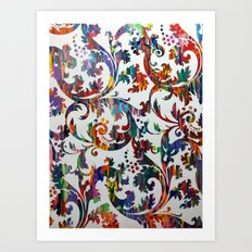 Interlaced Art Print