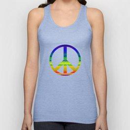Freedom (rainbow) Unisex Tank Top