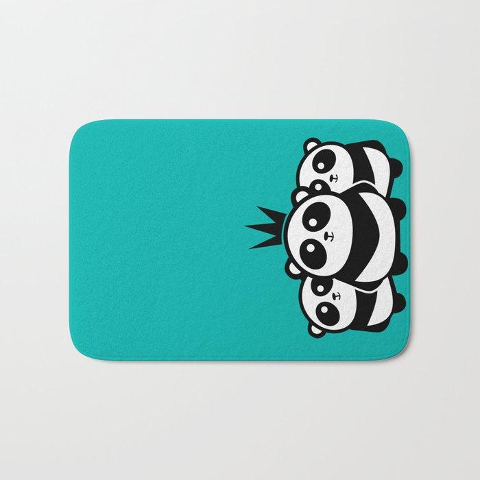 Panda Gang Bath Mat
