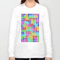 tetris Long Sleeve T-shirts featuring Tetris by MarioGuti