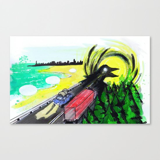 """Summer Tours"" by Cap Blackard Canvas Print"