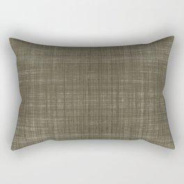 Tissu d'écorce Charcoal Rectangular Pillow