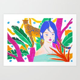 Wild Jungle Art Print