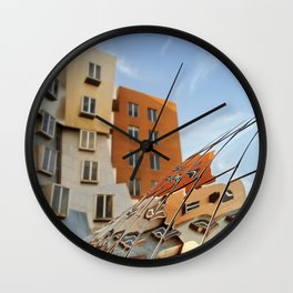 The Ray and Maria Stata Center Wall Clock