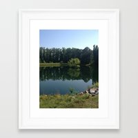 virginia Framed Art Prints featuring Virginia  by Nollin