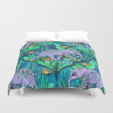 Little Elephant on a Jungle Adventure Duvet Cover