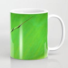Canna Leaf Spiral Twist Coffee Mug
