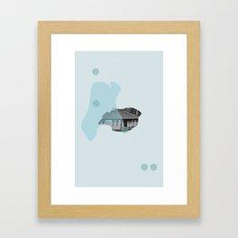 Hillend Framed Art Print