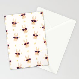 Hipster Llamas Stationery Cards
