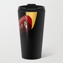 Red Boots, White Legs Running by Mgyver Travel Mug