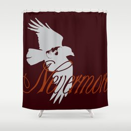 Nevermore: A tribute to Poe Shower Curtain
