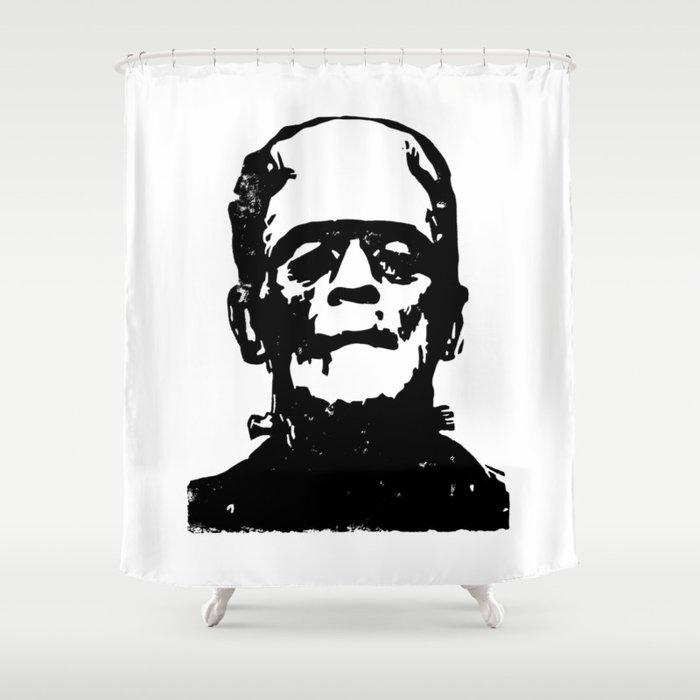Frankenstein Shower Curtain By Upopot