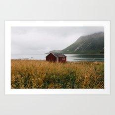 Lofoten Islands Art Print
