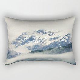 Mountains and Fog Rectangular Pillow