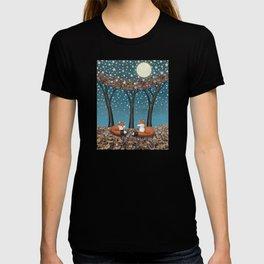 starlit foxes T-shirt