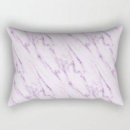 Purple Swirl Marble Rectangular Pillow