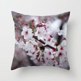 Sakuras Throw Pillow