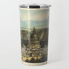 View of Washington City, Washington D.C., (1871) Travel Mug