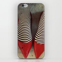 dorothy iPhone & iPod Skins featuring Dorothy by elle moss