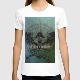 Pirate design, a pirate's life for me T-shirt