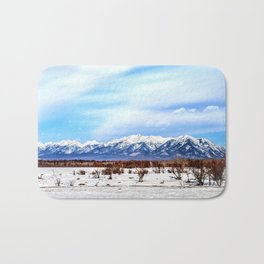 Sayan Mountains Bath Mat