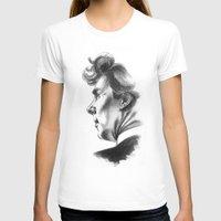 sherlock holmes T-shirts featuring Sherlock Holmes by aleksandraylisk