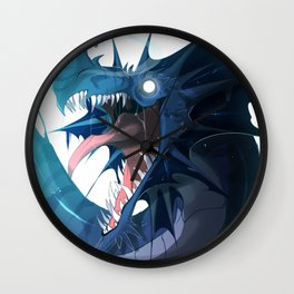 Ice Dragon Wall Clock