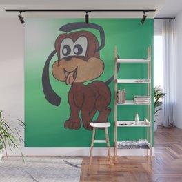 little puppy Wall Mural