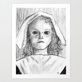 Pilgrim Nell Art Print