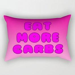 Eat More Carbs Rectangular Pillow