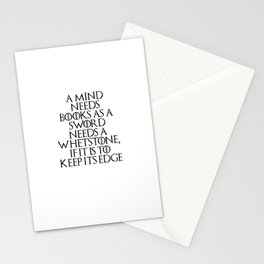 A Mind Needs A Book... Stationery Cards
