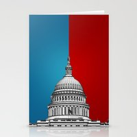politics Stationery Cards featuring American Politics by politics