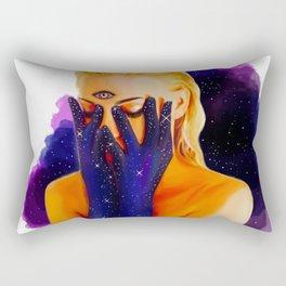 Divine Feminine 1 ( We Are The Cosmos ) Rectangular Pillow