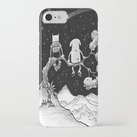 finn and jake iPhone & iPod Cases featuring finn & jake by jasminevn