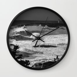Surging Wall Clock
