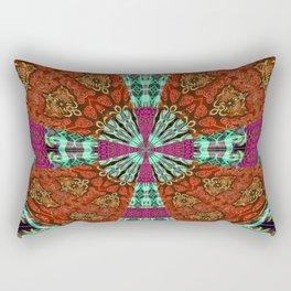 Gothic Power Cross Bold Rectangular Pillow