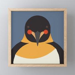 Emperor Penguin, Animal Portrait Framed Mini Art Print