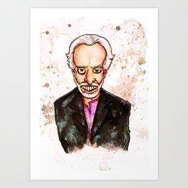 Alejandro Jodorowsky Art Print