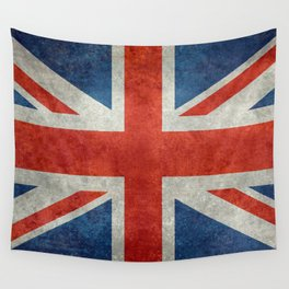 British flag of the UK, retro style Wall Tapestry