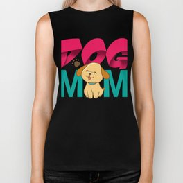 Dog Mom Mothers Day Gift - Shirt Biker Tank