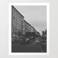 berlin Art Prints featuring Berlin by Jane Lacey Smith