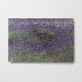 Lavender Hues Abstract Metal Print