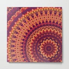Mandala 124 Metal Print